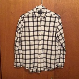 Women's Boyfriend flannel shirt
